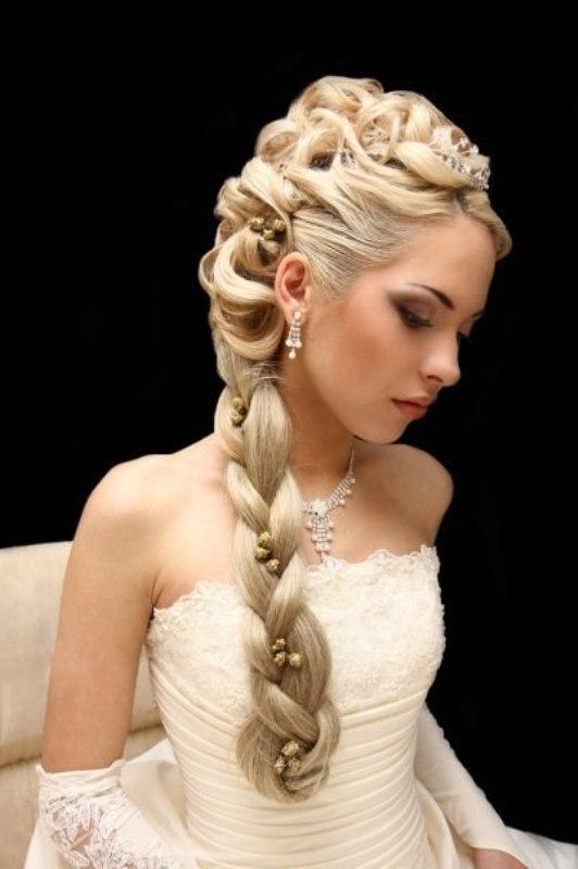 эльстайл свадебные прически